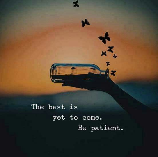 The best is yet to come